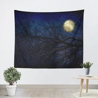 Blue Moon Tapestry