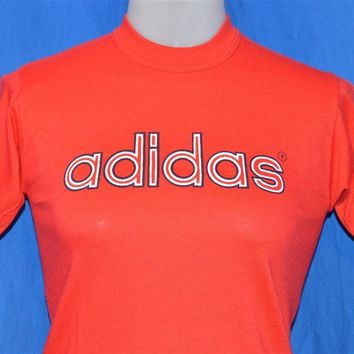 80s Adidas Logo Short Sleeve t-shirt Youth Medium