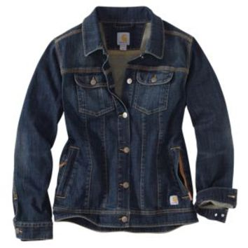 Carhartt Brewster Denim Jacket for Ladies