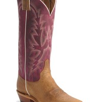 Justin Bent Rail Violet Cowgirl Boots - Square Toe - Sheplers
