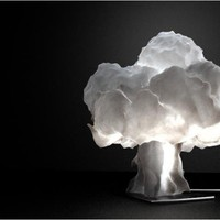 Nuke Lamp by VENERIDESIGN on Shapeways