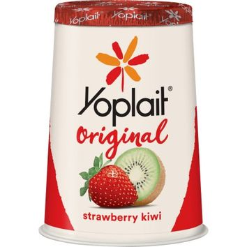 Yoplait Original Strawberry Kiwi Yogurt, 6 oz - Walmart.com