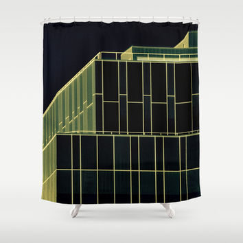 Uncomplex Complex Shower Curtain by RichCaspian | Society6