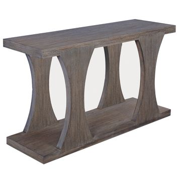 Brownstone Palmer Driftwood Console Table