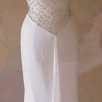 Style 3200 / White Special Occasion Dress / Strapless Evening Gown