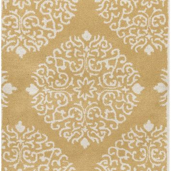 Surya Chapman Lane CHLN9008 Brown/Neutral Medallion and Damask Area Rug