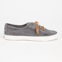 Sperry Seacoast Womens Shoes Charcoal  In Sizes