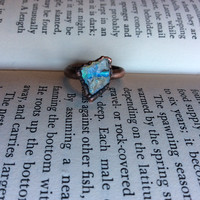 Raw Opal Ring Size 5.5