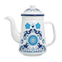 Folklore Enamel Tea Pot