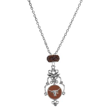 Texas Longhorns - Filigree Necklace