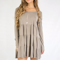 Endless Joy Light Olive Dress