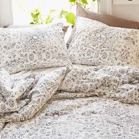 Magical Thinking Hatay Fine Line Duvet Cover