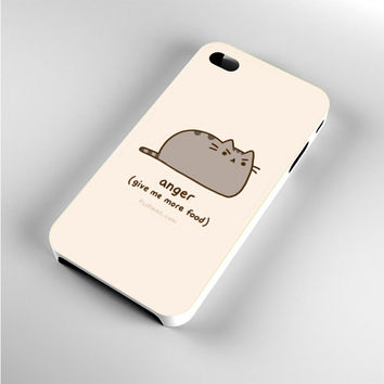 i'm Pusheen The Cat Anger iPhone 4s Case