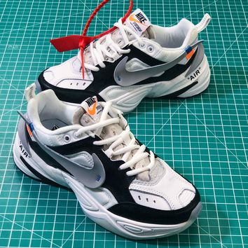 OFF White X Nike Air Monarch The M2K Tekno Sneakers - Best Online Sale
