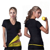 Women's Neoprene Bodyshaper Hot Black Slimming Waist Slim Fitness