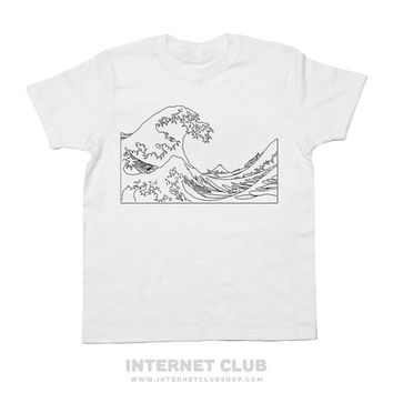 Aesthtetic Great Wave Shirt