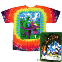 Alice in Wonderland Tie Dye T Shirt on Sale for $24.99 at HippieShop.com