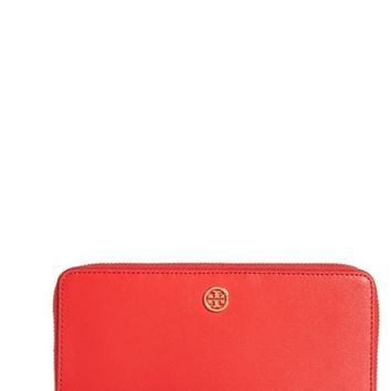 Tory Burch Parker Leather Continental Wallet | Nordstrom