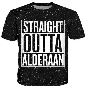 Star Wars / Straight Outta Alderaan Compton Shirt
