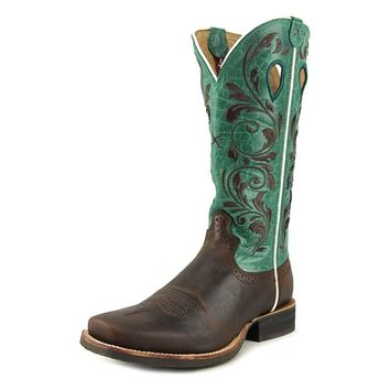 Twisted X Women's Blue Ruff Stock Cowgirl Boot Square Toe - Wrs0023