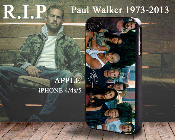 Paul Walker Fast & Furious 5 Brian From PODStore On Etsy