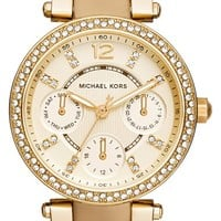 Women's Michael Kors 'Mini Parker' Multifunction Bracelet Watch, 33mm