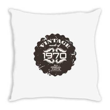 vintage made of 1970 all original parts Throw Pillow