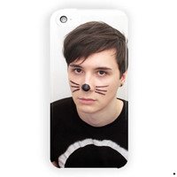 Dan Howell Youtuber Design Cover For iPhone 5 / 5S / 5C Case