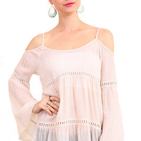 Full Swing Tunic Top - Ivory