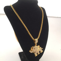 Jewelry Shiny Stylish Gift New Arrival Hot Sale Fashion Hip-hop Club Necklace [6542724931]