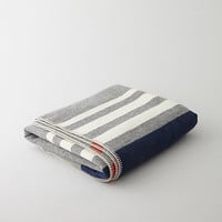 WOOL STRIPED BLANKET