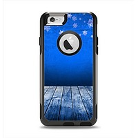 The Snowy Blue Wooden Dock Apple iPhone 6 Otterbox Commuter Case Skin Set