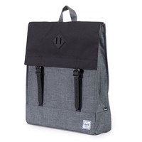 Herschel Supply Co.: Survey Backpack - Charcoal Crosshatch / Black / Black Rubber