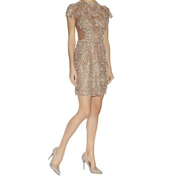 Patricia Bonaldi Embellished Tulle and Lace Dress | Harrods