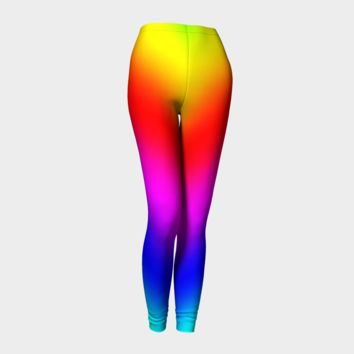 Yoga/Leggings Rainbow Cuteness Compression Fit