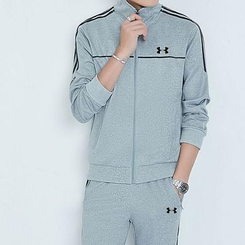 """Under Armour"" PRINT TOP AND TWO PIECE SUIT Grey"