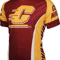 NCAA Men's Adrenaline Promotions Central Michigan Chippewas Road Cycling Jersey