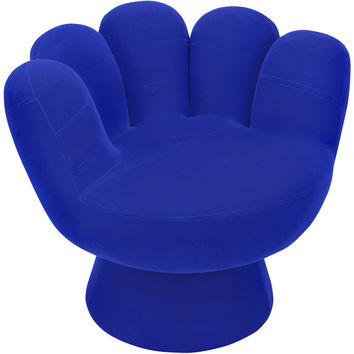 Mitt Chair, Blue