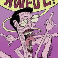 """Everything Is Awful"" - Art Print by M C Wolfman"