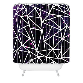 Deny Designs Nostromo Rear Window Shower Curtain Black Combo One Size For Men 23689814901