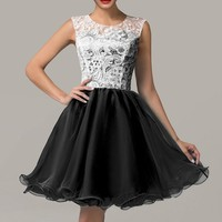 Women Short Evening Prom Bridesmaid Dress Homecoming Formal Ball Gowns Banquet