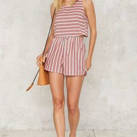 Oui Babes Striped Top