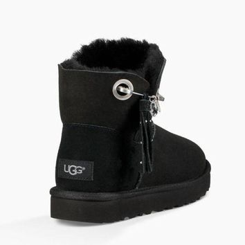DCCKGQ8 UGG Women Fur Winter In Tube Boots Shoes