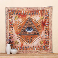 2016 Wall Decor Enthic Tapestry Totem Mandala Square Tapestry 145x145cm Wall Hanging Carpet Wall Blanket  Beach Towel Tablecloth