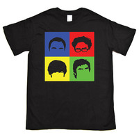 Big Bang Theory Hairstyles Colour cube T Shirt 3 Colours S-XXL :DTG074