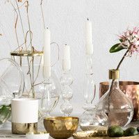 H&M Glass Candlestick $9.95