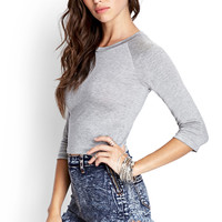 Raglan Crop Top