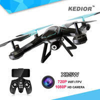 X8SW Fpv Wifi Ufo Drone with Camera HD Gopro Rc Quad copter 2.4G Professional Dron HD 720P Flying Camera Helicopter UAV