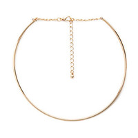 Curved Bar Choker | FOREVER 21 - 1000137929