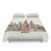 Society6 Austin Texas Duvet Covers
